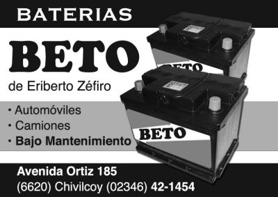 Baterías Beto