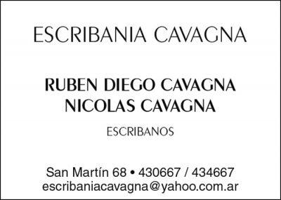 Escribanía Cavagna