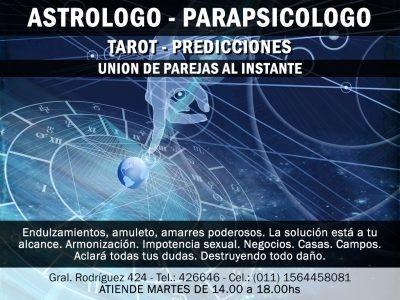 Astrólogo-Parapsicólogo