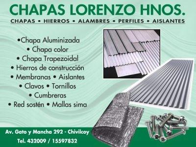 Chapas Lorenzo Hnos.