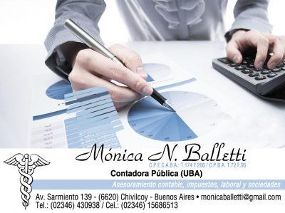 Balletti, Mónica