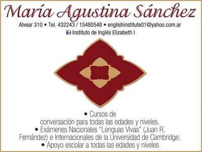 María Agustina Sánchez