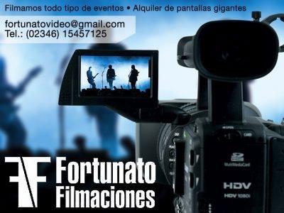 Gabriel Fortunato, Filmaciones