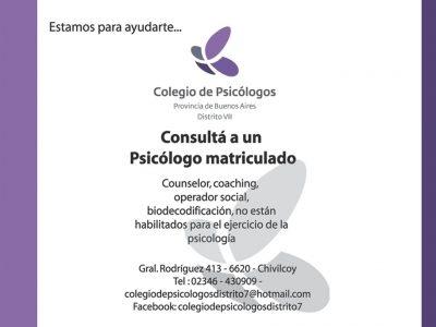 Colegio de Psicólogos